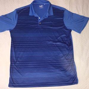 Beautiful blue Puma polo shirt